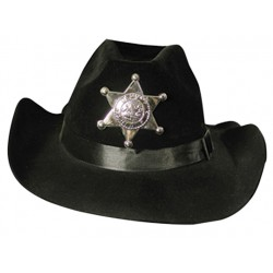 Chapeau Cow-Boy sheriff, taille adulte