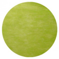 Set de table rond 34cm vert