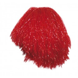 Pom-pom rouge de supporteur