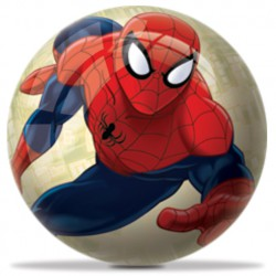 Balle plastique Spiderman 6 cm