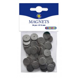 36 magnets ronds 15 mm