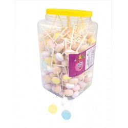 Tubo 200 sucettes Lollies