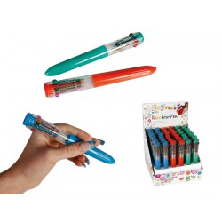 Stylo 10 couleurs