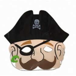 Masque de pirate en éva